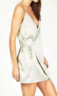 Alice in the Eve Signature Wrap Dress