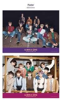 WANNA ONE: NOTHING WITHOUT YOU POSTERS