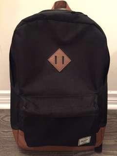 Herschel backpack (black/brown)