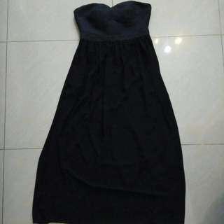 Doublewoot Black Tube Dress #precny60