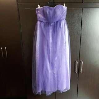 Purple Tulle Evening Dress #precny60