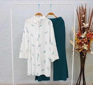 Set blouse dan palazo