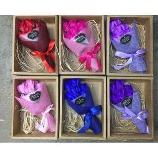 Flowers Soap Bouiquet