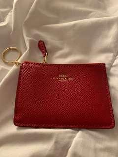 Coach card and coin purse