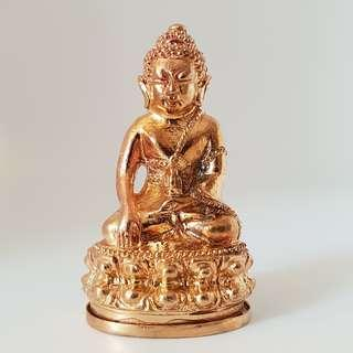 Phra Kring Lor Thong Deang (Copper) with Kring Ball Inside / 金龙圣佛 / Wat Traimit / BE2561