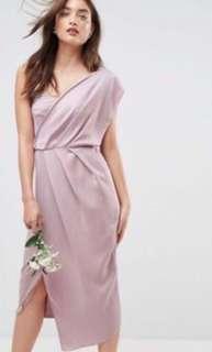 ASOS One Shoulder Bridesmaid Dress