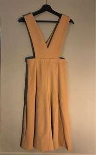 Tan culottes / overalls