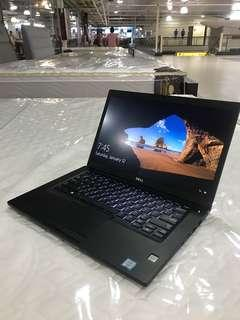Dell latitude 7480 ultrabook core i5 skylake 8gb ram 256gb ssd FHD backlit KB