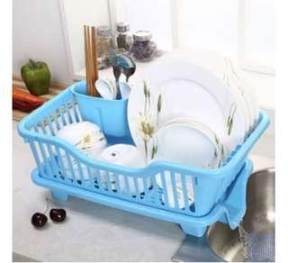 Dish Rack with water drainer