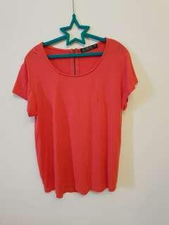 Cotton On Red Top (Size XS)