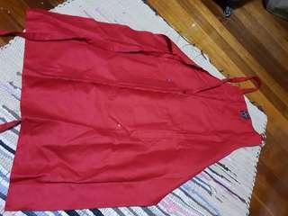Red apron new