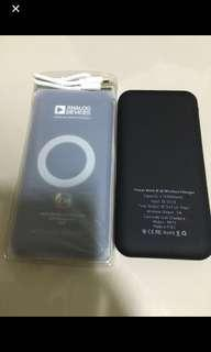 $18 - Wireless power bank 8000mAh