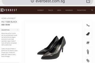 Black Everbest Heels