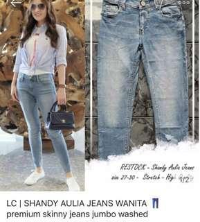 Skinny Jeans (Shandy Aulia looks) size 29