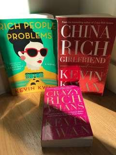 CRAZY RICH ASIANS 3 Books