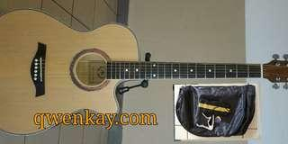 A&K acoustic guitar 40inch #220