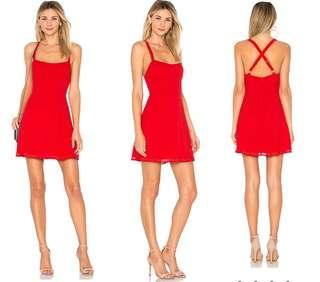 By the way. Red Sundress