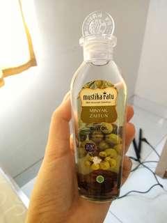 Minyak zaitun mustila ratu 75ml