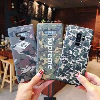 Camo Supreme Glow Samsung Note 9 / 8 / S9 / S8 / S7 casing