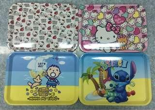 Disney Cartoon Character Plates