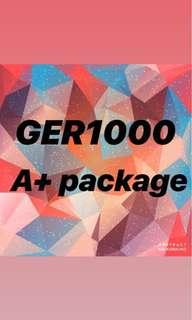 GER1000 A+ package & ebook