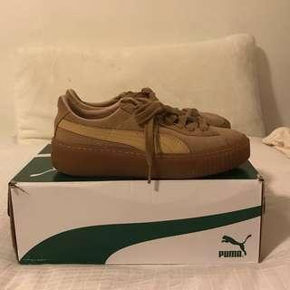 Puma Suede Platform Shoes