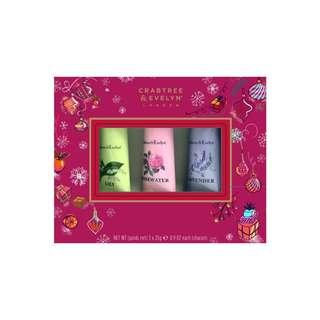 Crabtree & Evelyn Berry Gift 3x25g