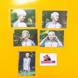 namjoon 2nd muster live photo set