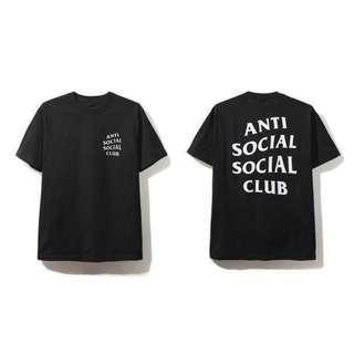 Anti Social Social Club Tee Black