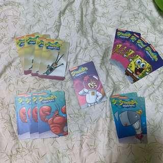 CPCM Spongebob Jackpot Cards