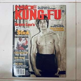 Bruce Lee magazine Inside Kungfu
