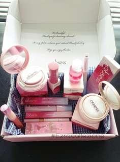 Full set makeup giftbox by Obsess Cosmetics