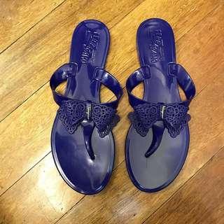 Authentic Salvatore Ferragamo jelly sandals