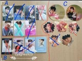 Wanna One專輯小卡磁石鏡面拼圖