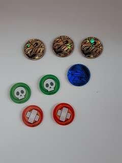 Pokemon coins and status counter