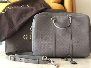 Authentic Gucci Diamanté Briefcase