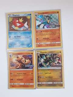 Pokemon promo pre release and toy r us cards