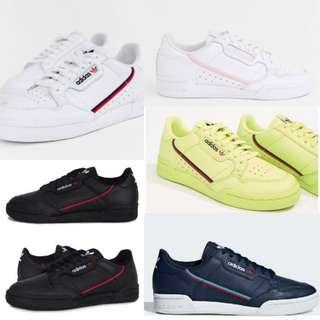 AUTHENTIC PO CHEAPEST ADIDAS CONTINENTAL 80 RASCAL SNEAKERS