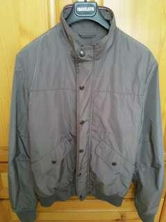 Zara Man 銀灰色外套