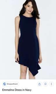🚚 TCL Emmeline Dress in Navy