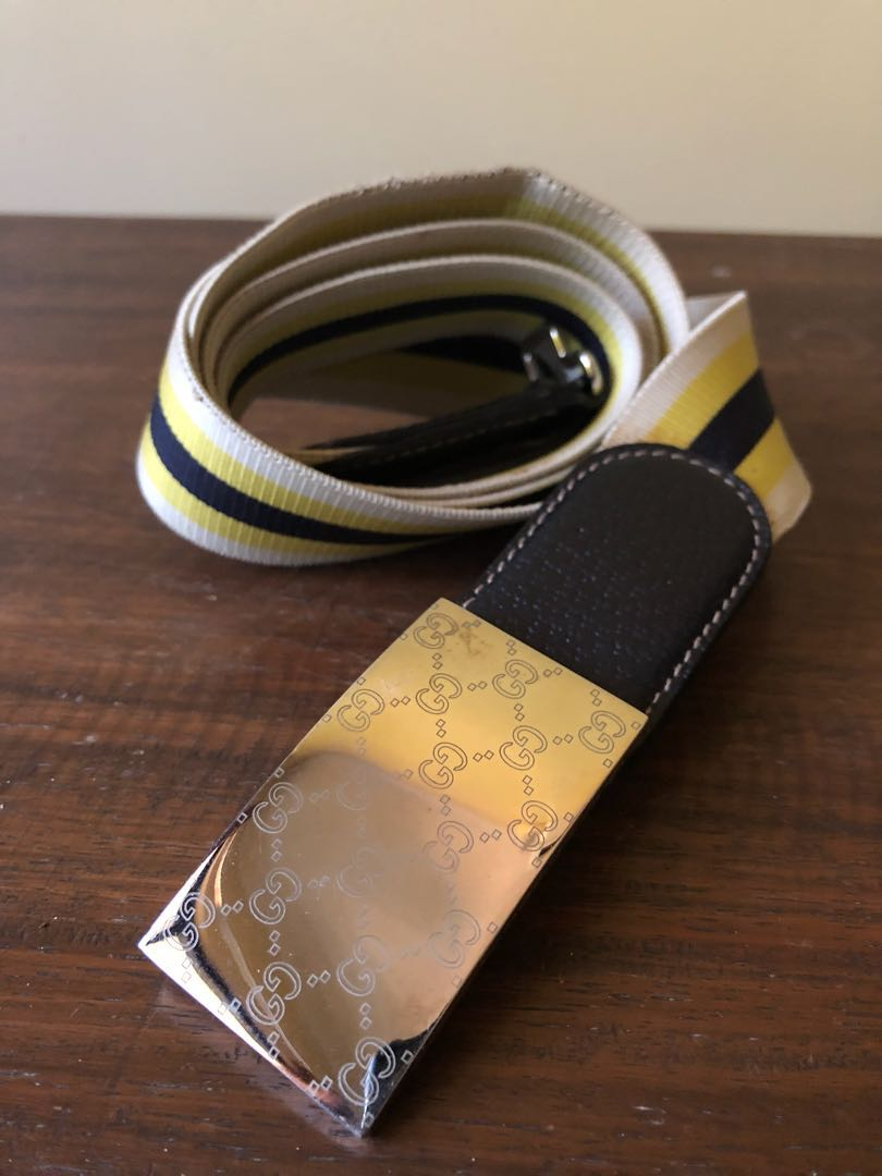f6ea932ad5b 100% Authentic Gucci Elastic Belt 40 inches waistline