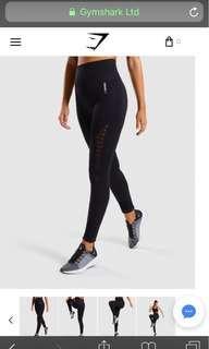 Gymshark Black Energy Seamless Leggings