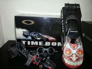"Original Oakley ""Time Bomb"" dragster model"