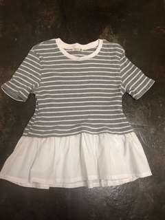 [PL] Padini Knit Peplum Top #PRECNY60
