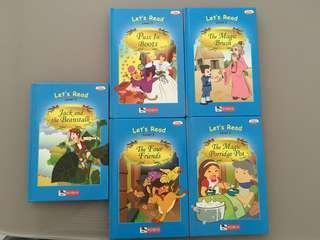 Preloved Robin Reader Books of 5