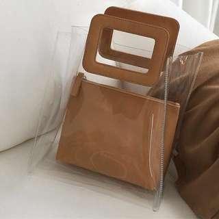 [BN] Transparent Handbag #PRECNY60