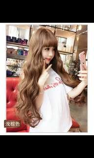 (NO INSTOCKS!)Preorder natural big wave fluffy long wig *waiting time 15 days after payment is made *chat to buy to order