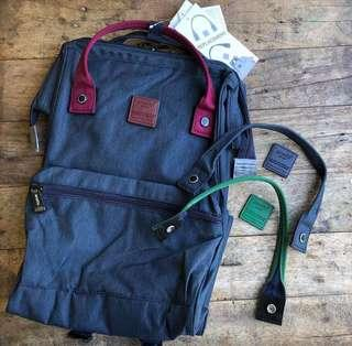 Anello Backpack with 2 Replaceable Handles and Logo