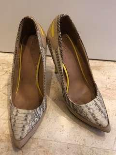 L.A.M.B Python Heels