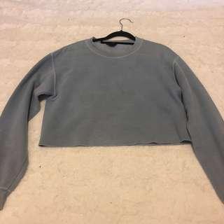 Topshop cropped jumper